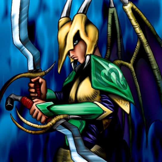 Dragoness, el Caballero Perverso