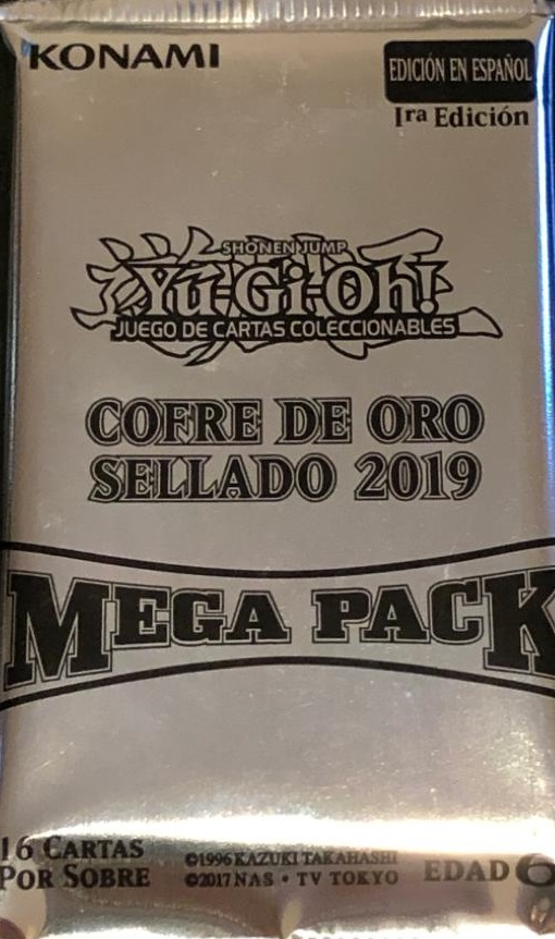 Promo Pack - Cofre de Oro Sellado 2019 Mega Pack