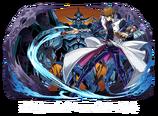 Seto Kaiba y Obelisco el Atormentador (colaboración con Puzzle & Dragons)