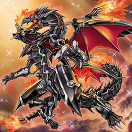Dragón De Metal Replandeciente Ojos Rojos Yu Gi Oh Wiki En Español Fandom