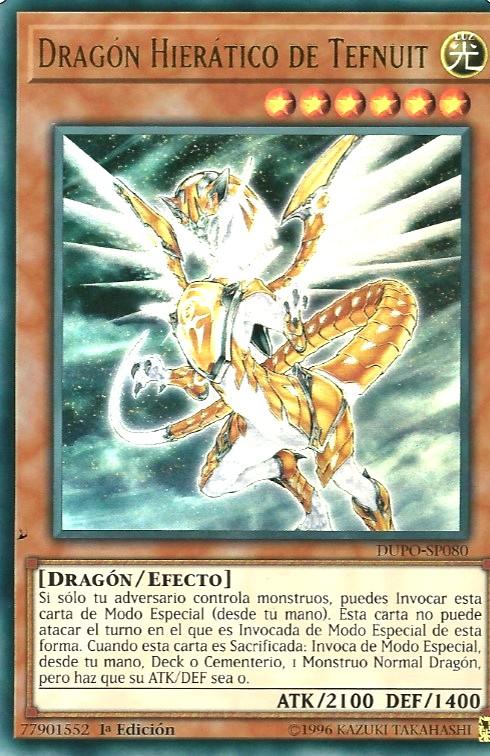 Dragón Hierático de Tefnuit