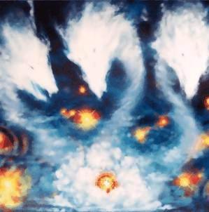Número 57 Dragón de Polvo de Tres Cabezas