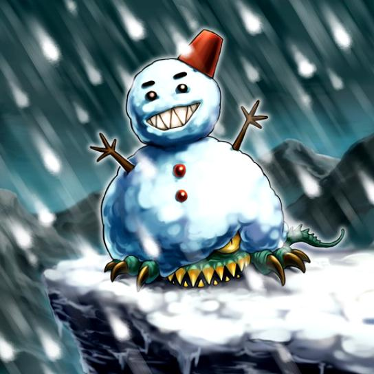 Hombre de Nieve Comilón