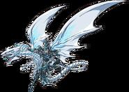 Mago Oscuro Dragon Blanco de Ojos Azules 2016 Render oficial