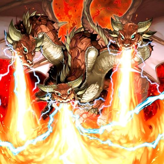 Dragón Tridente