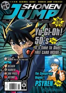 Cartas Promocionales de la Revista Shonen Jump