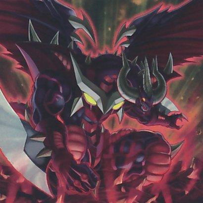 Ardiente Dragón Rojo Archidemonio del Abismo
