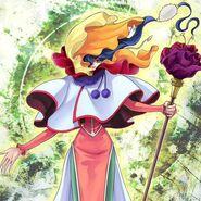 Foto hechicera de la flor