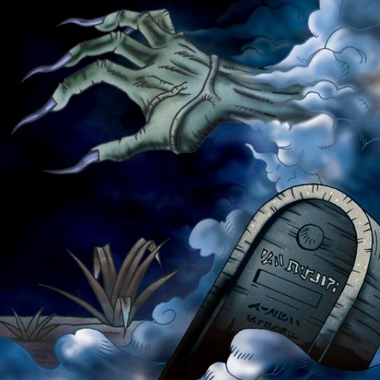 Cementerio y la Mano de la Invitación
