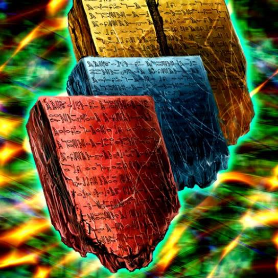 Litografía Hieroglifo