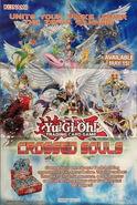 Poster sobre de expansión almas cruzadas TCG