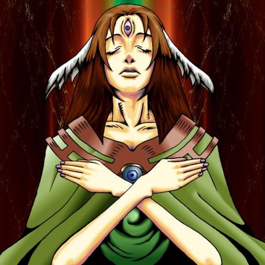 Diosa con el Tercer Ojo