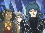Aster, Axel y Zane