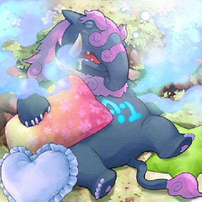 Número 41 Bagooska el Tapir Terriblemente Cansado