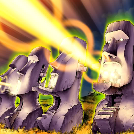 Cañones Interceptadores Moai