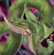 Foto predaplanta anaconda verte