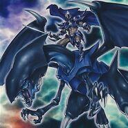 Foto paladín del dragón oscuro