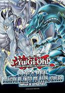 Cover baraja estructura dragon blanco de ojos azules
