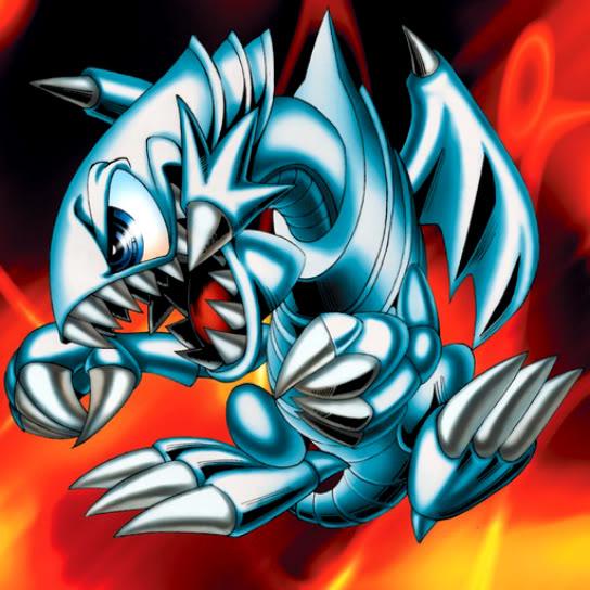 Dragón Toon de Ojos Azules