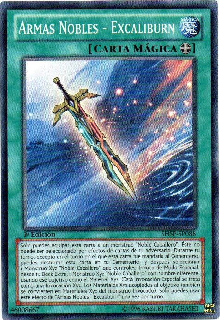 Armas Nobles - Excaliburn