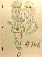 Alexis y su amiga por Hiroki