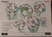 Cara de Yugo con casco arte conceptual