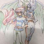 Jaden y Yubel por Gilbo Noh.jpg