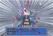 Victoria Torneo de Fin de Semana (El Día del Duelo)