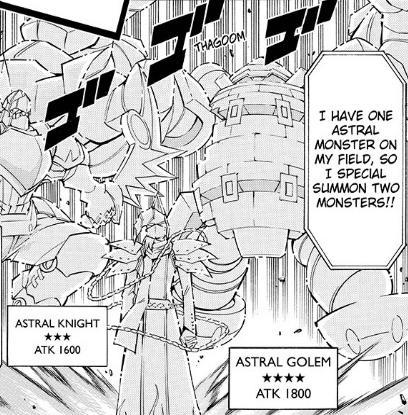 Gólem Astral