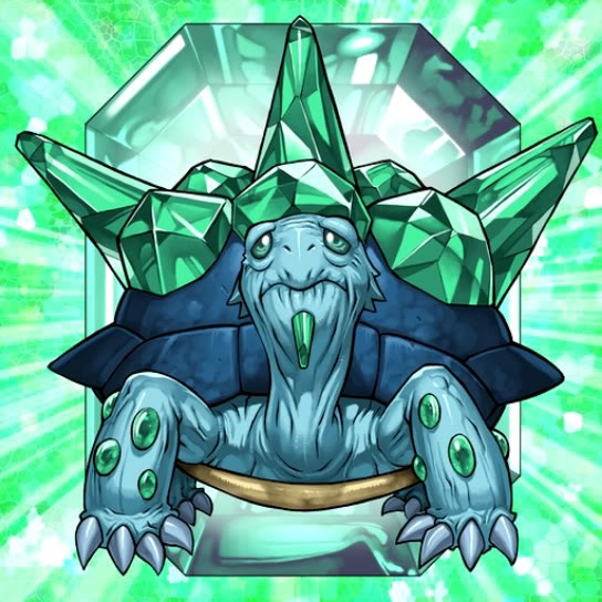 Bestia de Cristal Tortuga Esmeralda