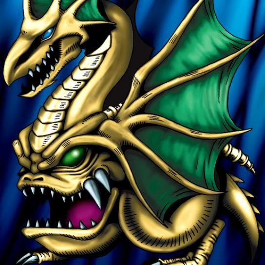 Dragón Malvado con la Cabeza de Repuesto