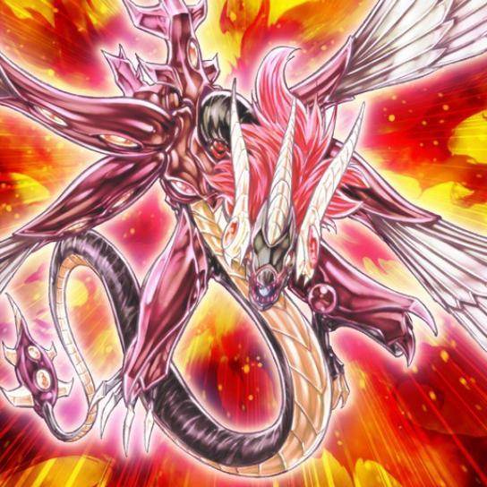 Dragón Rojo Majestuoso