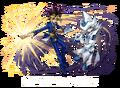 Yugi Muto y Mago Silencioso (colaboración con Puzzle & Dragons)