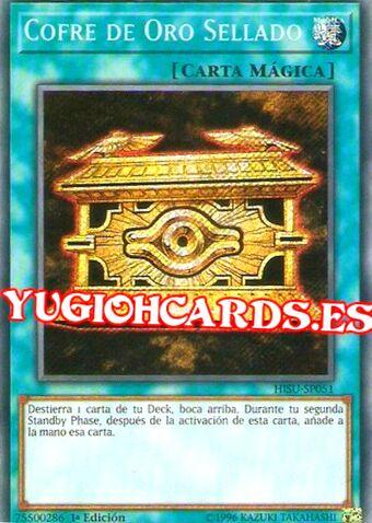 Cofre De Oro Sellado Yu Gi Oh Wiki En Español Fandom