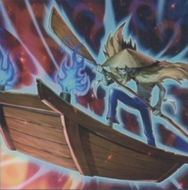 Caronte Fantasma, el Barquero del Inframundo