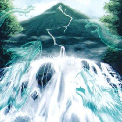 Cascada de Almas Dracónicas