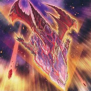 Dragón Meteoro de Ojos Rojos del Impacto