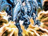 Dragón Explosivo de Ojos Azules de Dos Cabezas