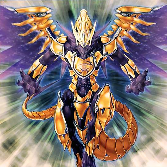 Dragón Hierático Rey de Atum