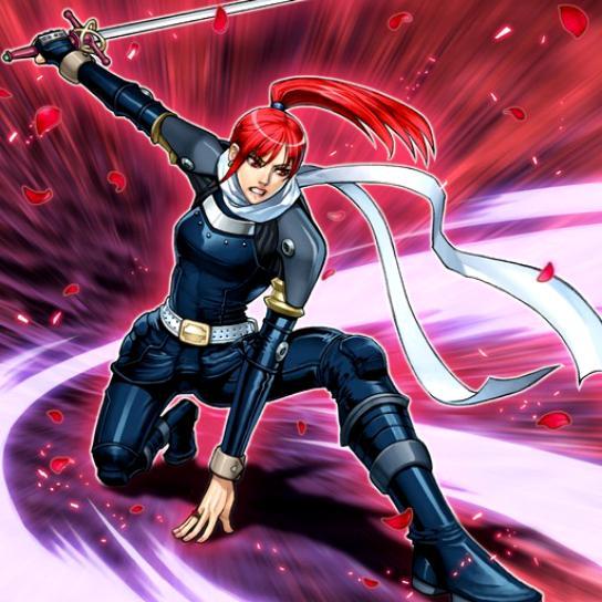 Rosa, Guerrera de la Venganza