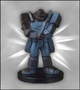 Soldado Gigante de Piedra Figura DDM