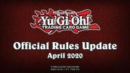 Yu-Gi-Oh! TRADING CARD GAME Official Rules Update - April 1st, 2020