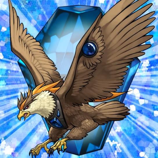 Bestia de Cristal Águila Cobalto