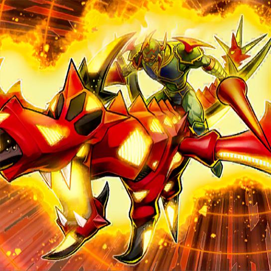 Gaia el Campeón Dragón Galopante del Cielo