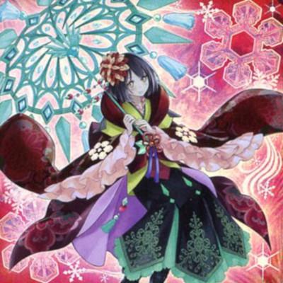 Kanzashi la Reina Rikka