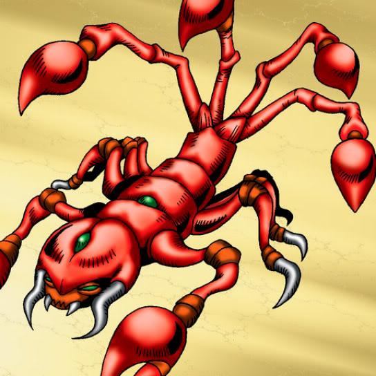Escorpión de Pesadilla