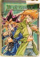 Yugi y Joey por Kagami