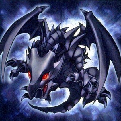 Dragón Bebé de Ojos Rojos