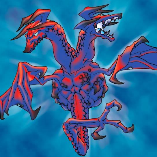 Dragón de Fuego de Cabezas Gemelas