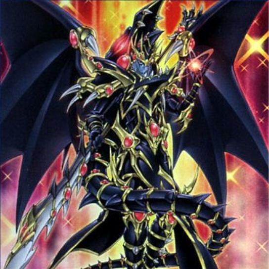 Dragoon Oscuro de Ojos Rojos